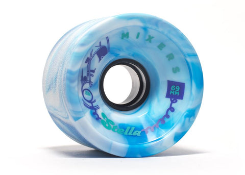Stella Mixers 69MM 78A Wheels - Arctic Blue [set of 4] - LocoSonix