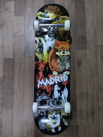 "Madrid STREET 8.25"" Skateboard Complete 8.25"" - DOGSS"