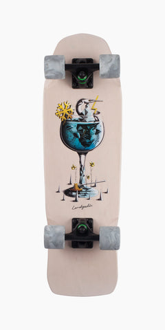 "Landyachtz 28.5"" Dinghy Gin and Tonic Cruiser Longboard Complete"
