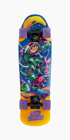 "Landyachtz 27.3"" Bottle Rocket Astro Chimp Cruiser Longboard Complete"