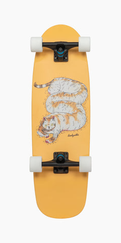 "Landyachtz 30"" Dinghy Tug Boat Chill Cat Cruiser Longboard Complete"