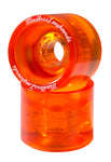 Mindless 68MM Outlaw Wheels - Orange - LocoSonix