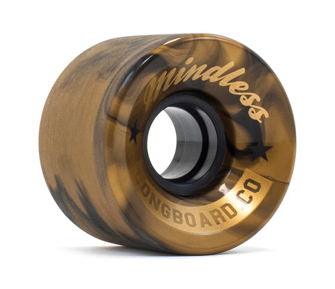 Mindless 60MM 83A Cruiser Wheels - Swirl Bronze (set of 4) - LocoSonix