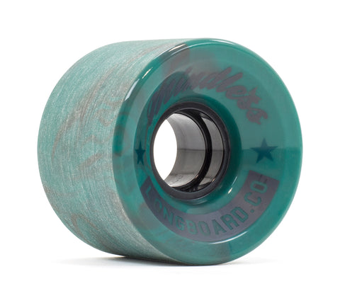 Mindless 60MM 83A Cruiser Wheels - Swirl Teal (set of 4) - LocoSonix