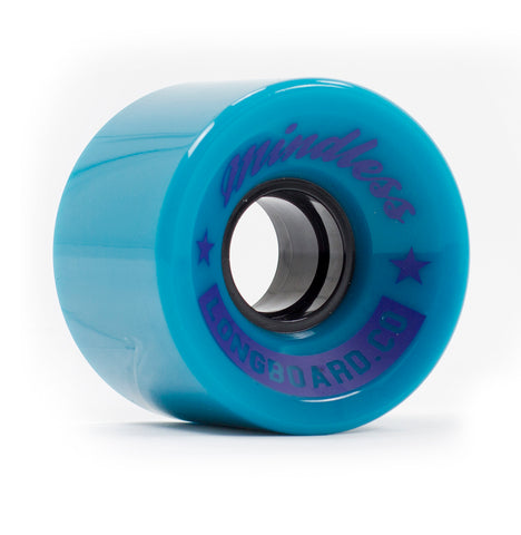 Mindless 60MM 83A Cruiser Wheels - Teal (set of 4) - LocoSonix