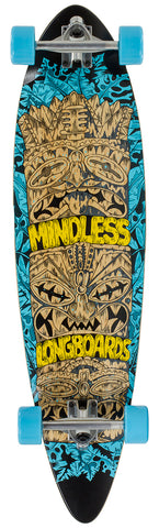 "Mindless 38"" Tribal Rogue IV Longboard Complete - Blue - LocoSonix"