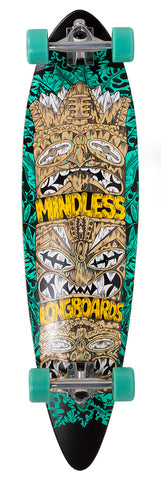 "Mindless 38"" Tribal Rogue IV Longboard Complete - Green"
