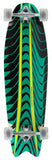 "Mindless 34"" Rogue Swallow Longboard Complete - Green"