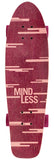 "Mindless 28"" Sunset Cruiser Longboard Complete - Burgundy - LocoSonix"