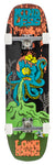 "Mindless 32.5"" OCTOPUKE Longboard Complete - Orange / Green - LocoSonix"