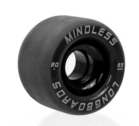 Mindless 65MM 82A Viper Wheels - Black [set of 4] - LocoSonix