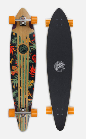 "Mindless 46"" Maverick IV Talisman Longboard Complete - Orange - LocoSonix"