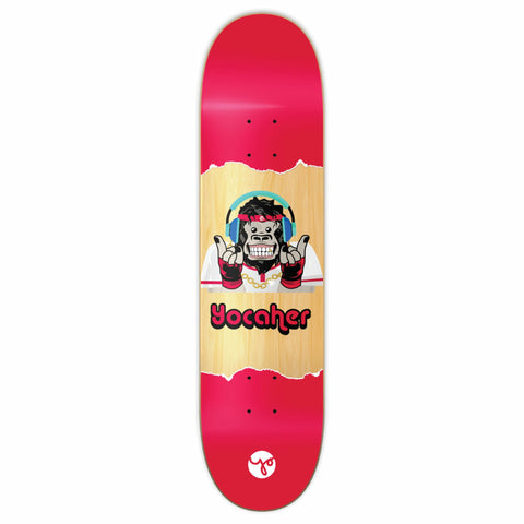 Yocaher CHIMP HEAR NO EVIL Skateboard Deck 7.75""