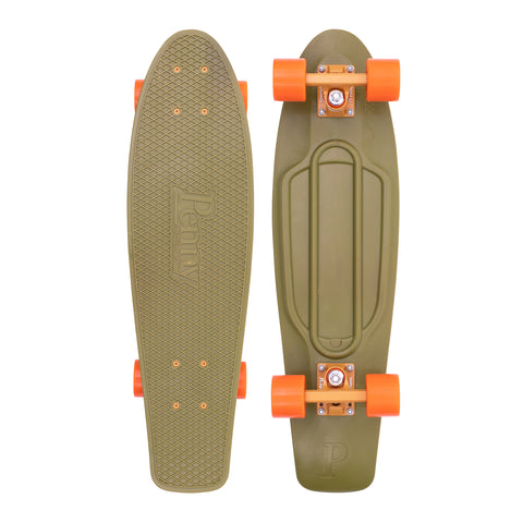 "Penny 27"" Burnt Olive PennyBoard Complete - Green - LocoSonix"