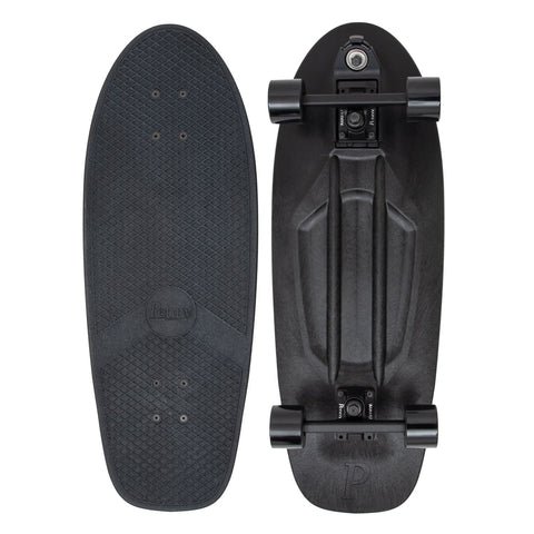 "Penny 29"" Blackout Surfskate Complete - Black - LocoSonix"