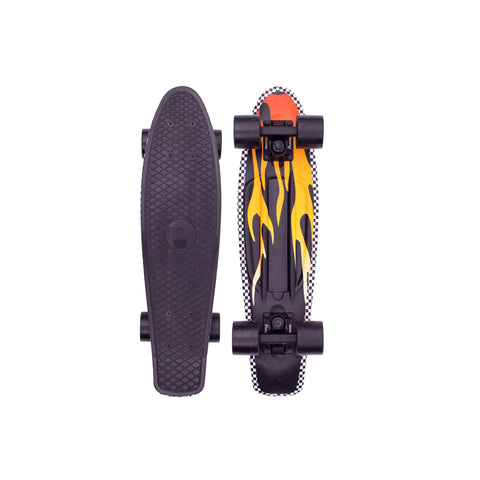 "Penny 27"" Flame PennyBoard Complete - Black - LocoSonix"