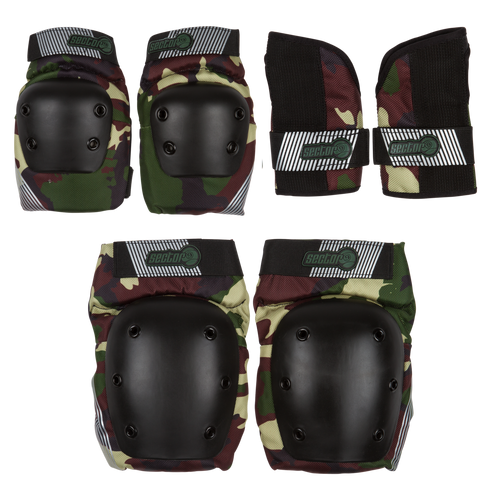 Sector9 Pursuit Jr Pad Set (knee, elbow, wrist)
