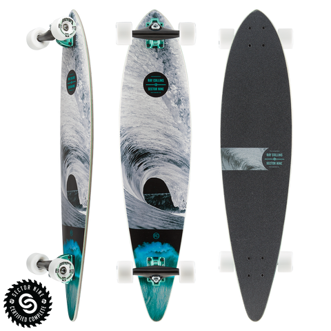 "Sector9 - 38"" RAY COLLINS MERCHANT Longboard Complete"