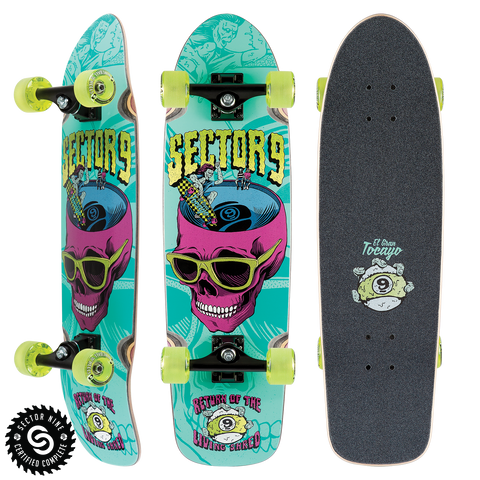 Sector9 Return Of Shred Longboard Complete 30.5