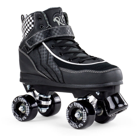 Rio Roller Mayhem Quad Skates - Black - LocoSonix