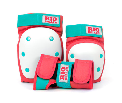 Rio Roller Triple Pad Set - Red/Mint