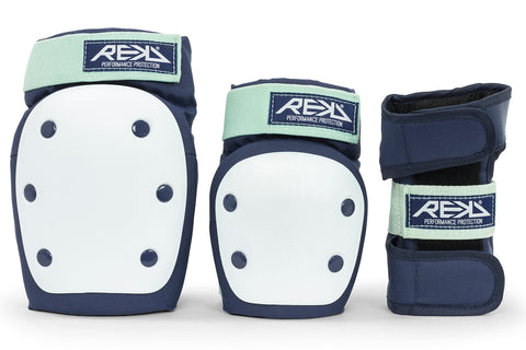 REKD Heavy Duty Triple Pad Set - Blue/Mint