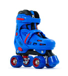 SFR SOTRM IV Adjustable Roller Skates - Blue/Red