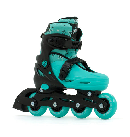 SFR Plasma Adjustable Inline Skates - Green
