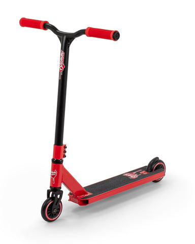 Slamm Tantrum VII Stunt Scooter - Red - LocoSonix