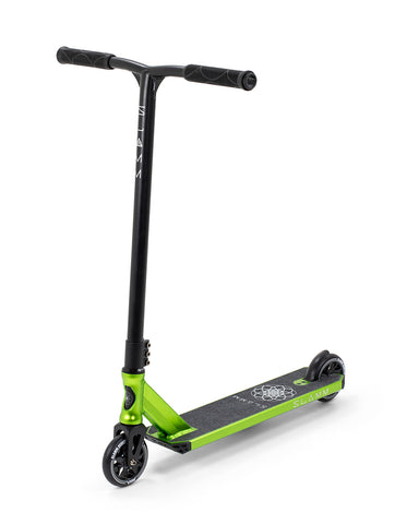 "Slamm 23"" Assault V5 Scooter - Green - LocoSonix"