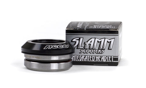 Slamm Integrated Sealed Headset - Black - LocoSonix