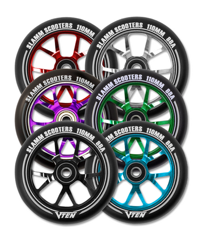 Slamm 110mm V-Ten II Scooter Wheel - LocoSonix