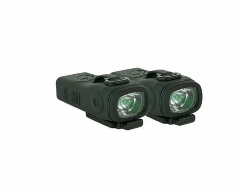 Shredlights SL-200 two-pack - Red Lights - LocoSonix