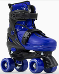 SFR NEBULA ADJUSTABLE QUAD SKATES  - black/blue