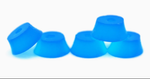 Teak BUBBLE BUSHINGS - BLUE (GLOW IN THE DARK)