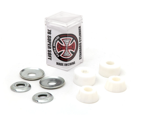 Independent Genuine Parts Standard Cylinder Bushings - Super Soft 78a White