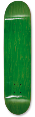 "SDS 7.75"" Stained Bottom Skateboard DECK ONLY - Green"