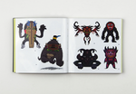 Stickerbomb Monsters 250 Stickers by SRK