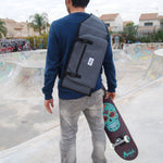 "Monark Skateboard Shoulder Bag (7.5"" to 8.5"") - Grey"