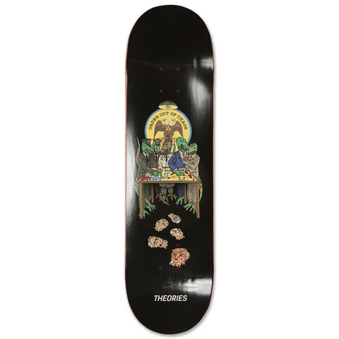 THEORIES SITUATION ROOM SKATEBOARD DECK - 8.38""