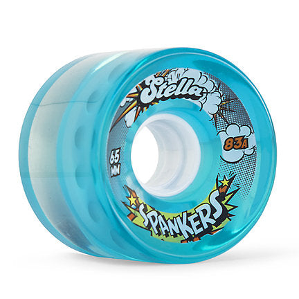 Stella Spankers 65MM 83A Wheels - Gel Blue [set of 4]