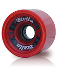 Stella 69's 69MM 78A Wheels - Red [set of 4] - LocoSonix