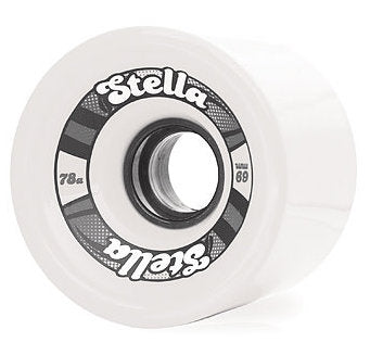 Stella 69's 69MM 78A Wheels - White [set of 4]