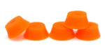Teak Fingerboard Bubble Bushings - Orange - LocoSonix