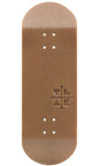 Teak Fingerboard Deck - Engraved Synthetic Wood - LocoSonix