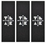 Teak Fingerboard Grip - Monochrome Logo [3-pack] - LocoSonix