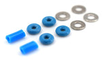 Teak Fingerboard Tuning O-Ring Kit Blue - LocoSonix