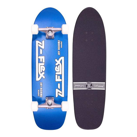 "ZFlex 32""x9.5"" Jay Adams Blue Metal Flake Complete"