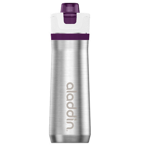 Aladdin Active Hydration Bottle 0.6L - Purple (Stainless Steel Vacuum)