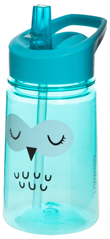 Aladdin Zoo Flip & Sip Water Bottle 0.35L - Owl
